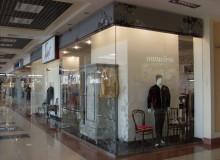 «Галант»Оформление павильона в торговом центре. Световой короб, вывески, аппликация.