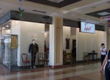 Оформление павильонов в торговом центре.